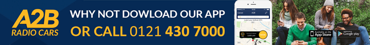 A2B Taxis Midlands | Book a ride