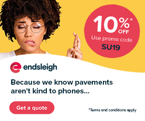 Endsleigh. Because we know pavements aren't kind t
