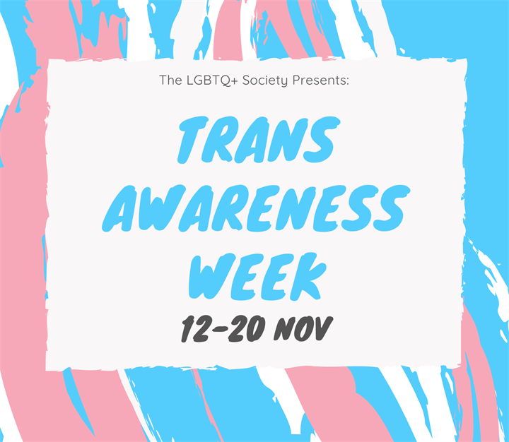 Transgender Awareness Week: Drafting a Trans Inclusion Policy!