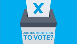 Students are you registered to vote?